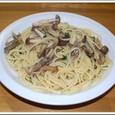 きのこのスパゲッティ