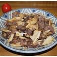 牛肉ときのこの炒め物