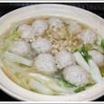 白菜と肉団子の鍋