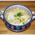 ツナとカリフラワーのスープ
