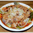 豚バラ肉の中華風蒸し物