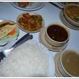 ネパール定食「ダルバート・タルカリ」(家庭版)