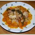 鶏のマーマレード風味