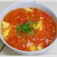 ふわふわ卵トマト