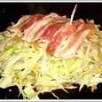 杏庵のお好み焼き