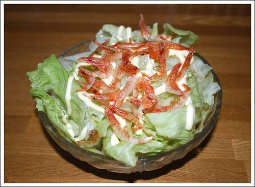 桜海老のサラダ