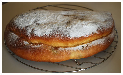 X'masのパン シュトーレン