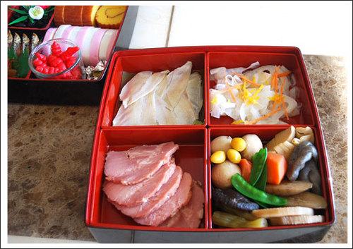 2009年おせち料理 重箱