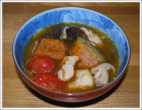 鶏肉と野菜の旨煮