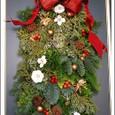 手作りクリスマスリース 2009
