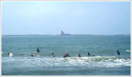 メロウな波