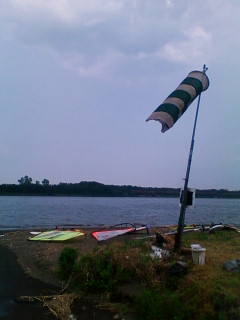 今日はウインドサーフィンです。