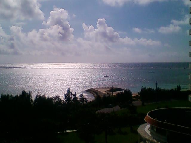 ホテルからの眺め。