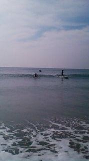 11:02、湘南七里ヶ浜サーフィン波情報