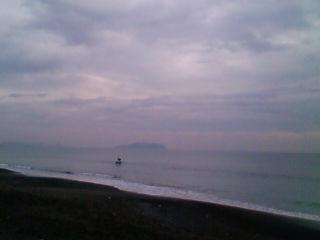 11:05、湘南茅ヶ崎サーフィン波情報。