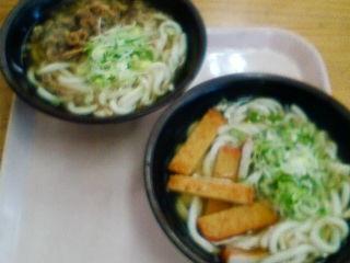 宮崎に到着、お昼はうどんです。