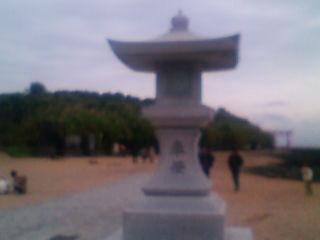 青島神社に来ました。