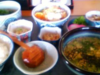 宮崎最後のお昼は冷や汁セットです