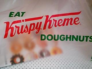 Krispy Kreme のドーナッツ12個入り
