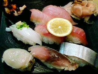 幸寿司の地魚寿司