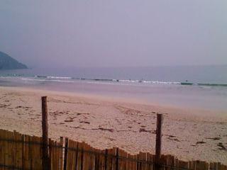 9:04、伊豆白浜サーフィン波情報。