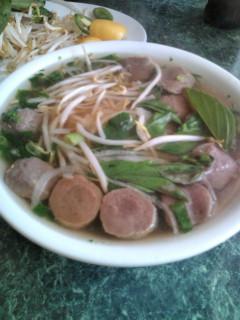 お昼ご飯は、ベトナム料理『ハレベトナム』でフォーをいただきました。