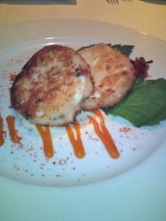 夕飯は、ハワイアン創作料理の店『アランウォンズ』でいただきました。