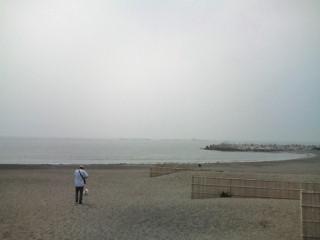 10:07、湘南茅ヶ崎サーフィン波情報。
