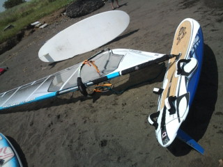 WindSurfing New Board