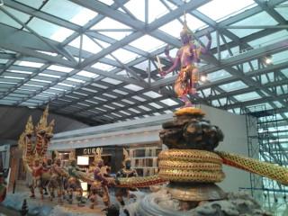 またしてもバンコク空港です。