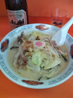 お昼ご飯は長崎ちゃんぽんでした。