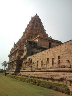 ヒンドゥー教のお寺。