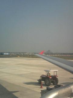 インド ティルチラッパッリ空港。