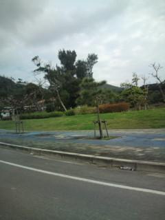 石垣島空港に到着しました。