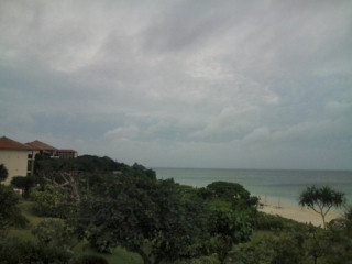今日も石垣島は曇りです。