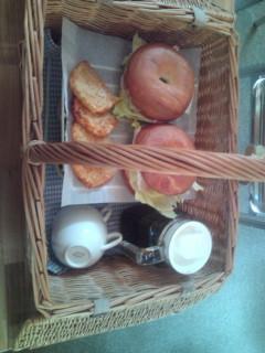 ココ・デ・メールの朝食。